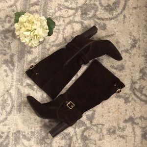 COACH | Robyn Boots | Brown Suede | 6.5